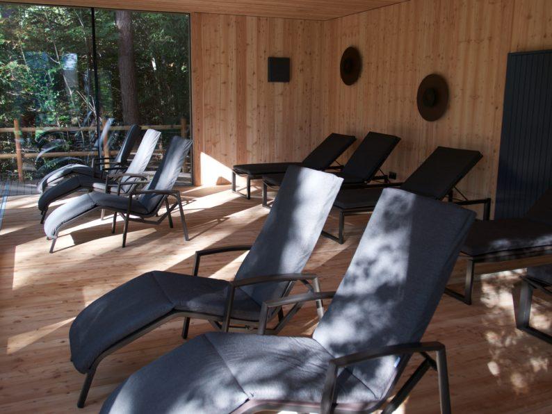 Adler Lodge Ritten - Sauna Ruheraum