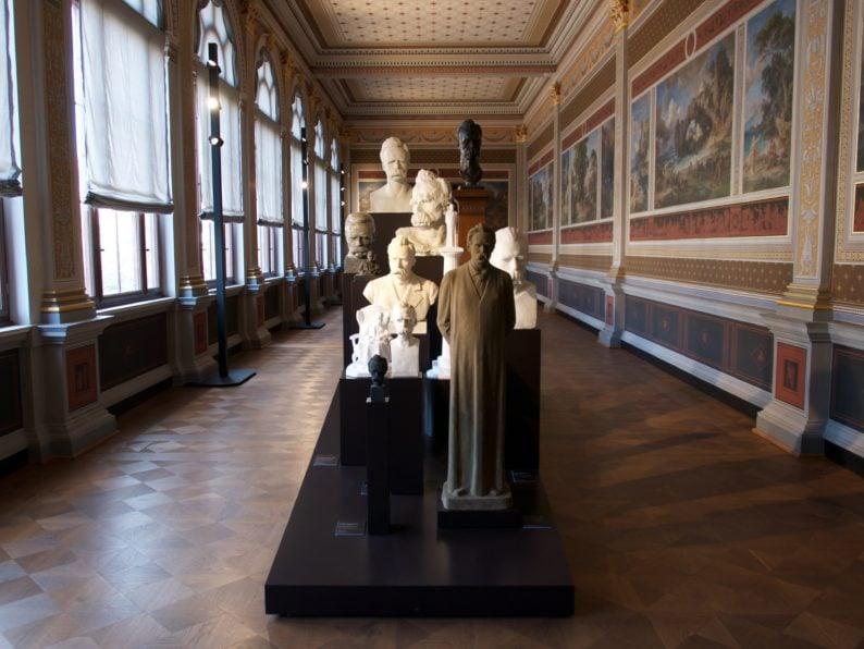 Neues Museum - Nietzsche im Preller - Saal