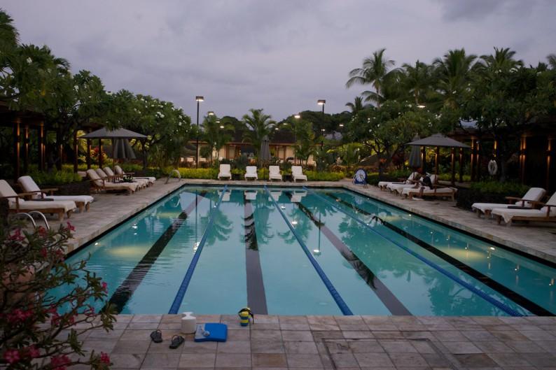 Big Island - Four Seasons - Pool beim Fitness