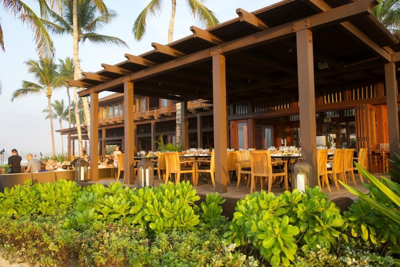 Big Island - Four Seasons  Ulu Grill später Nachmittag