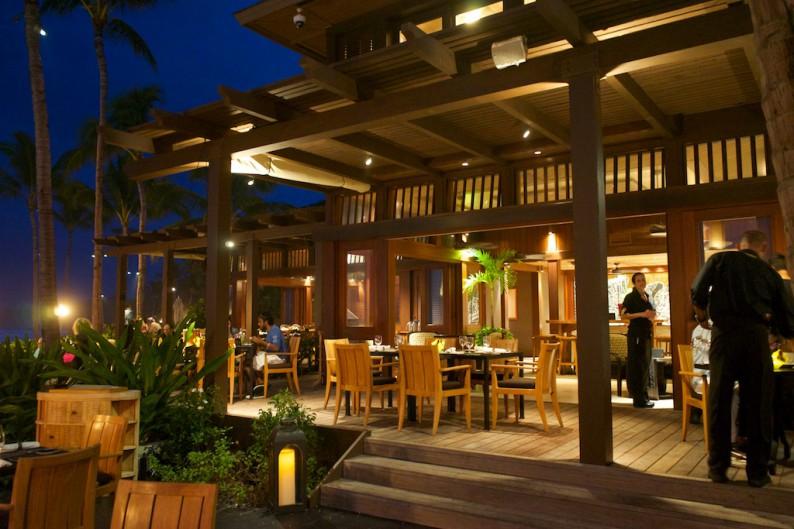 Big Island - Four Seasons - Ulu Restaurant