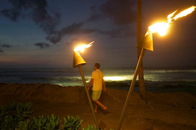Big Island - Four Seasons - am Abend