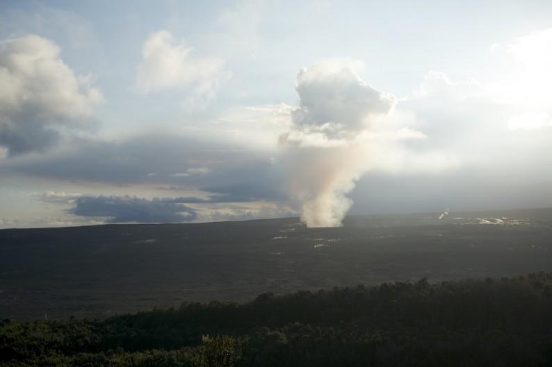 Big Island - Hawaii Volcanoes NP - Halemamau Krater