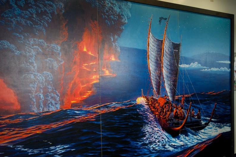 Big Island - Hawaii Volcanoes NP - Jaggar Museum