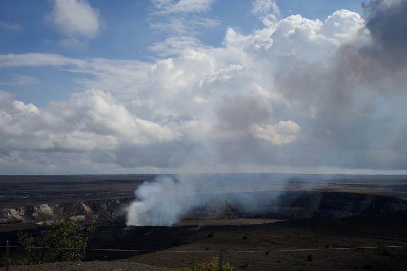 Big Island - Hawaii Volcanoes NP -Krater Halemaumau