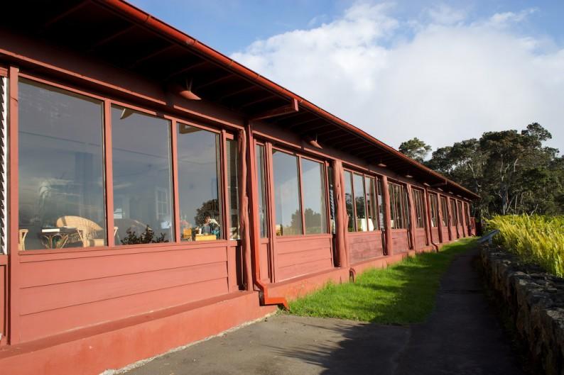 Big Island - Hawaii Volcanoes NP - Volcano House (2)
