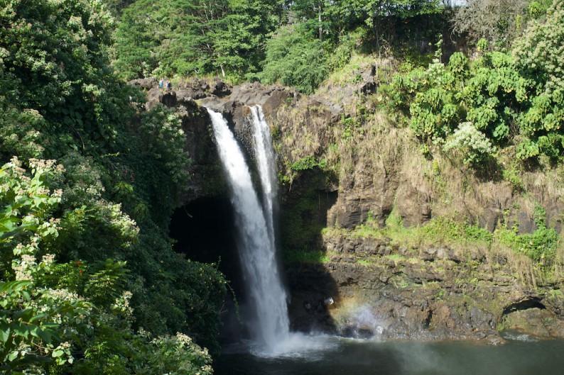 Big Island Hilo - Rainbow Wasserfälle