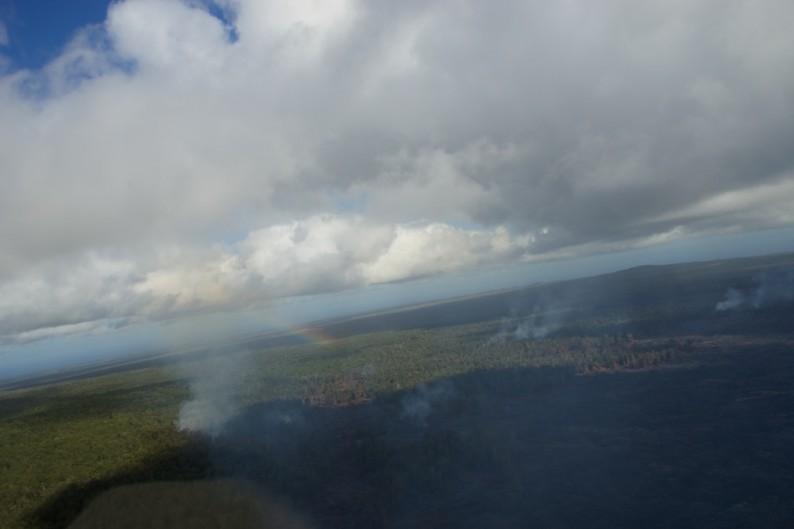 Big Island - Zentrum - Vom Helikopter aus