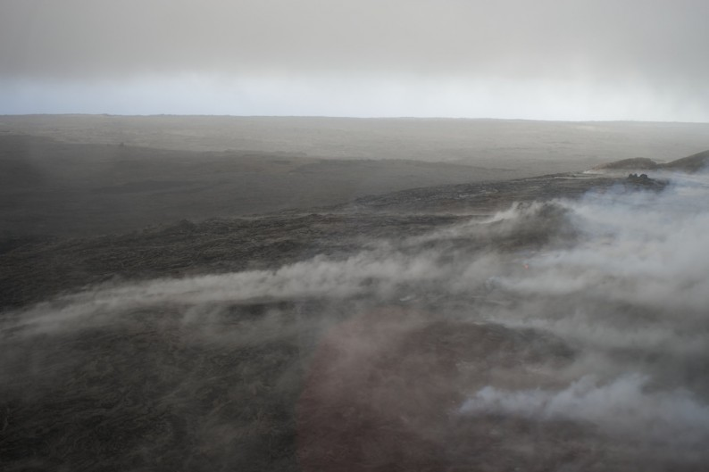 Big Island - kochende Lava