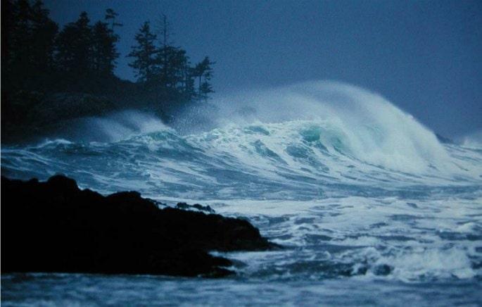 Der Pazifik tobt