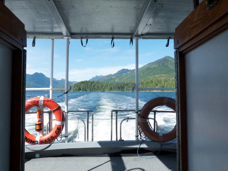 Blick in den Clayoquot Sound