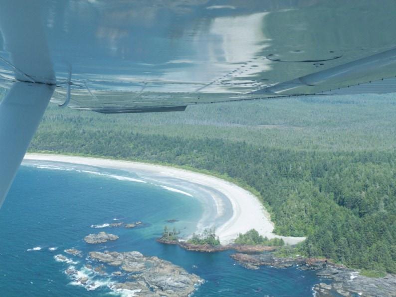 Clayoquot Sound Sandbucht von Florencia Island
