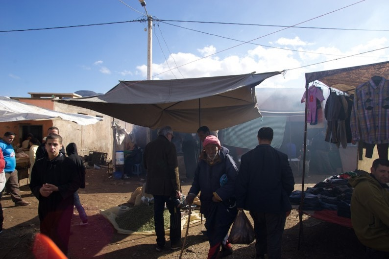 Berbermarkt in Asni