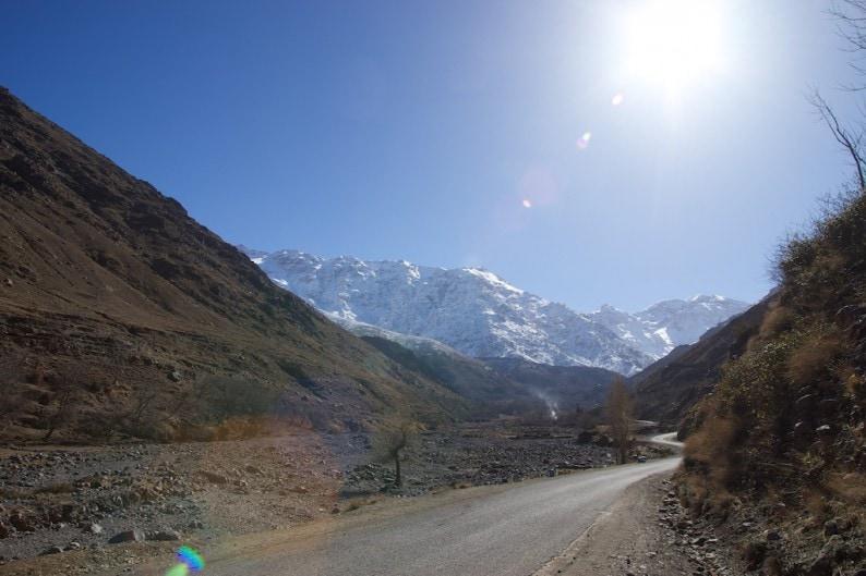 Straße nach Imlil
