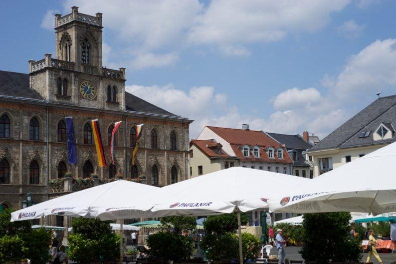 Weimar - am Markt