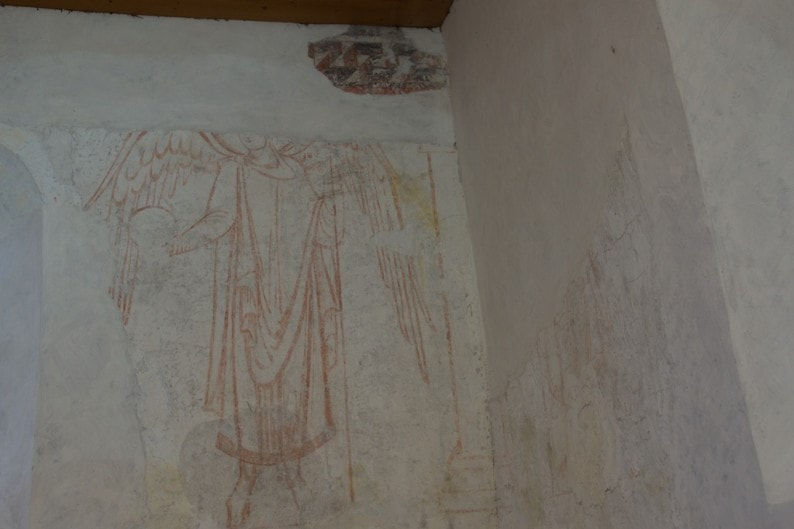Fraueninsel - karolingische Torhalle mit Originalfresken