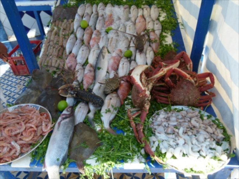 Frische Fische im Angebot