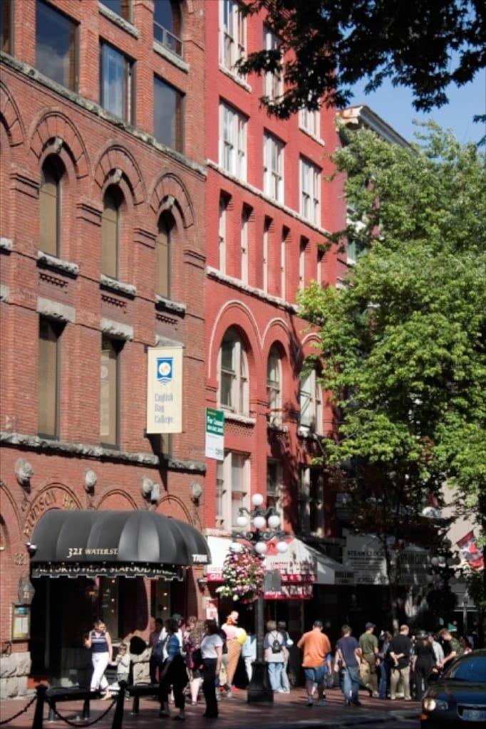 Gastown- historische Gebäude