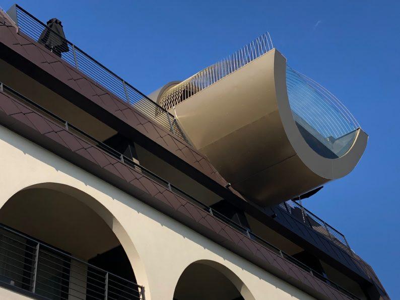 Guesthouse La Gloriette - Oberbozen - Pool auf dem Dach
