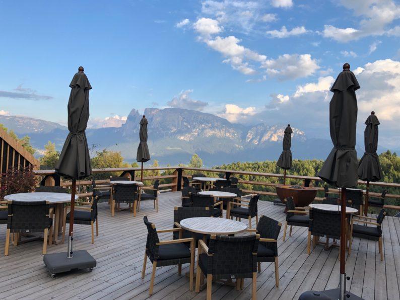 Adler Lodge Ritten - Terrasse