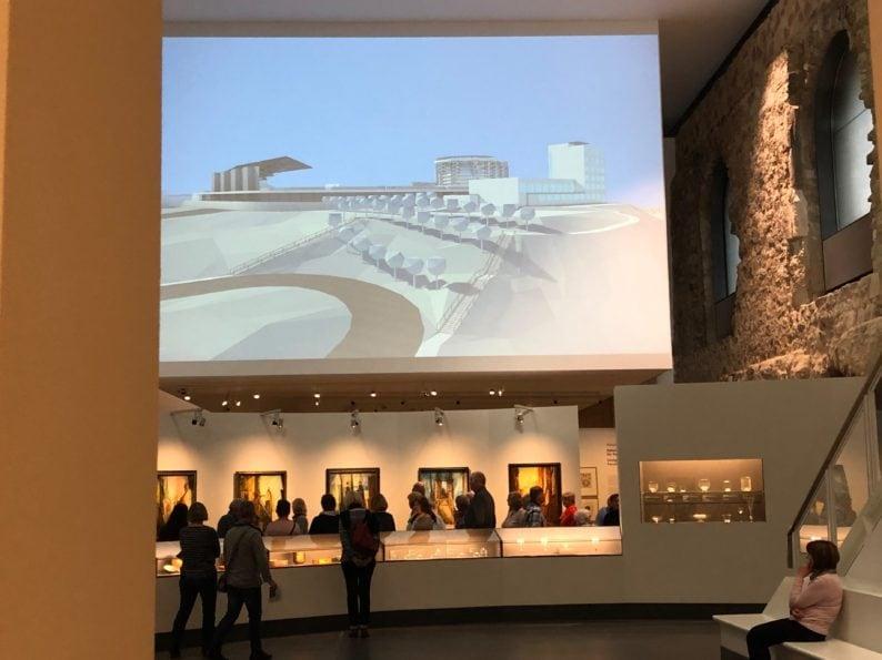 im Museum Moritzburg