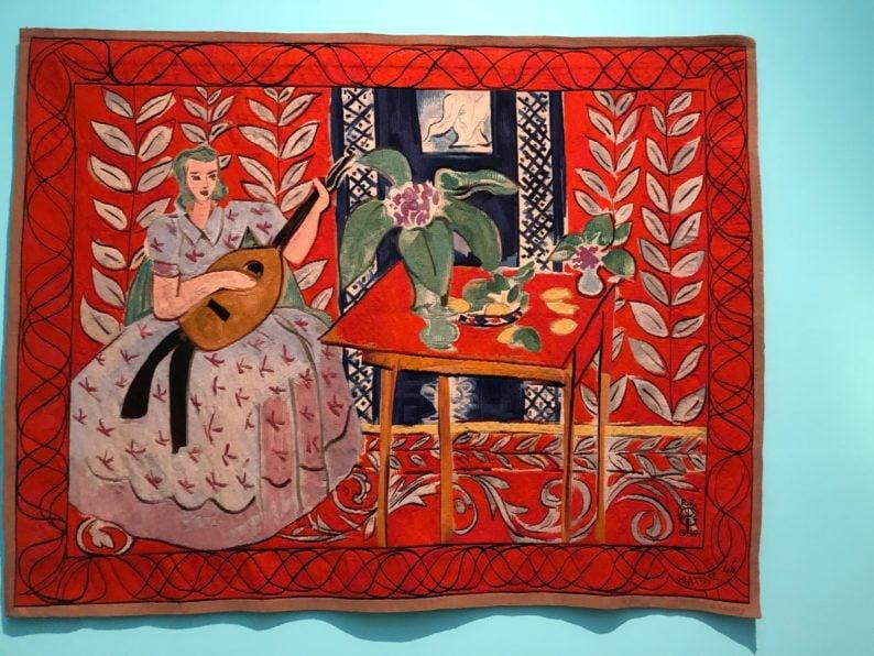 Henri Matisse - Die Lautenspielerin 1947-49