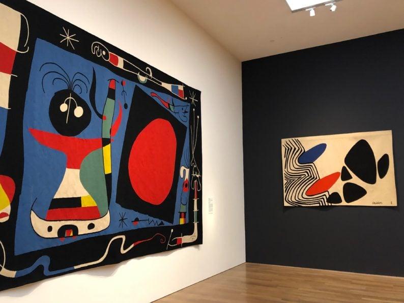 Joan Mir und Alex Calder