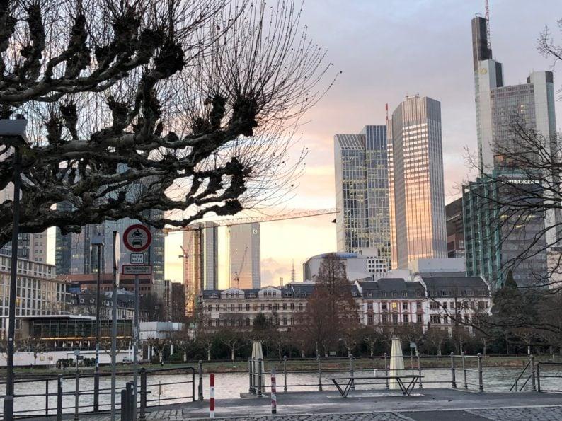 Frankfurt Ende Dez. 2017