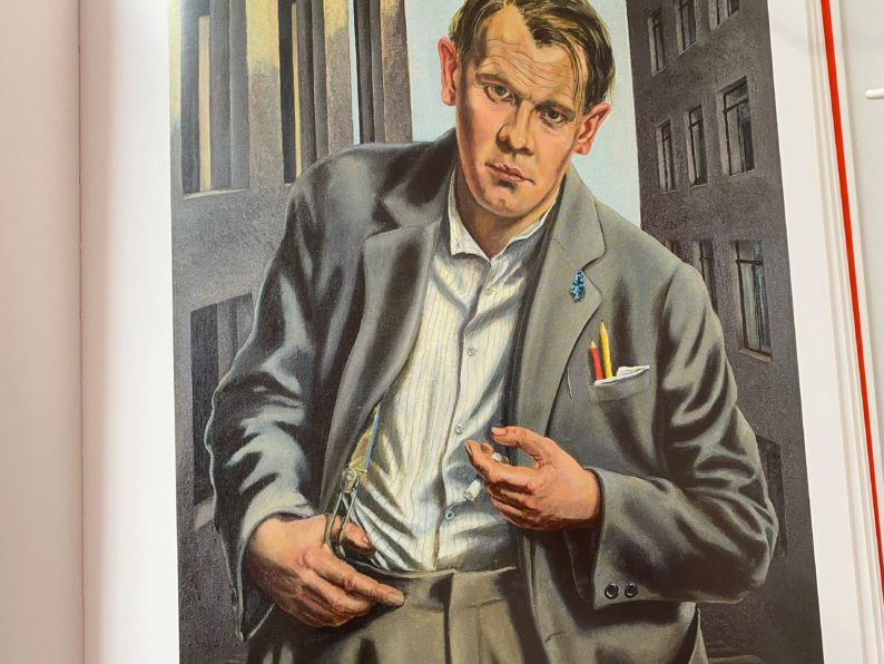 Walter Schulz-Matan - Bildnis des Dichters Oskar Maria Graf