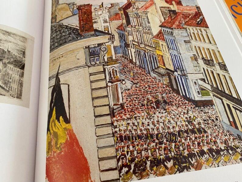 Musik in der Rue de Flandern 1891