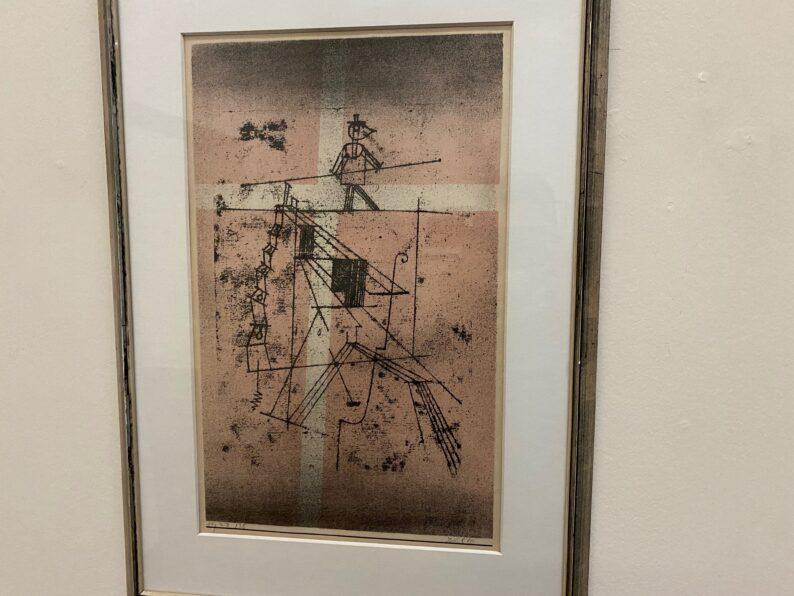 Paul Klee - Mann auf dem Seil