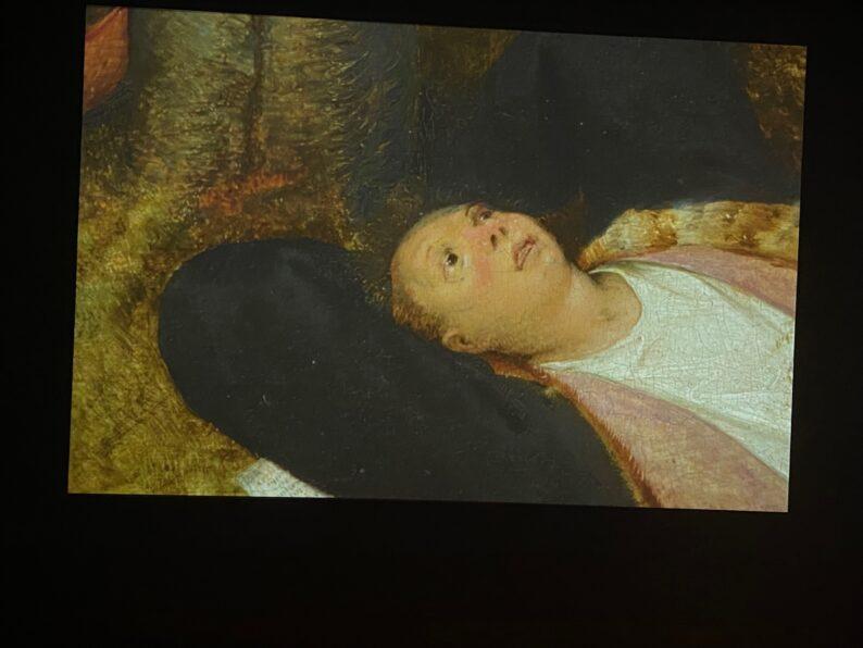 Raum 03 - Das Schlaraffenland von Pieter Bruegel d.Ä.