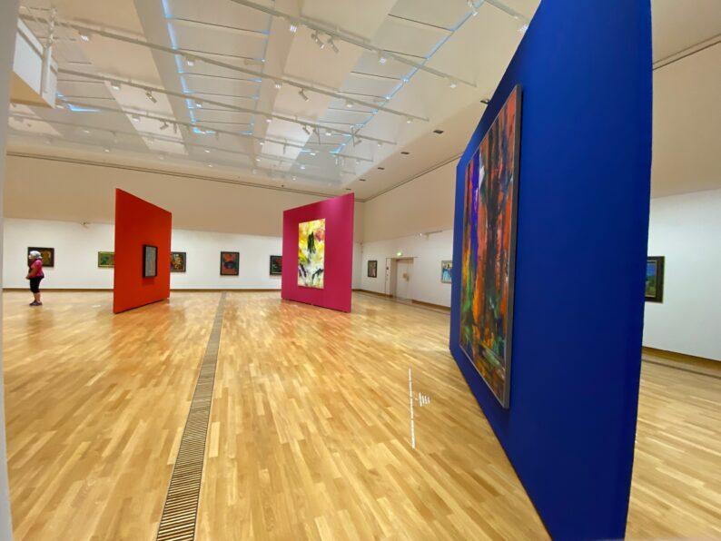 Gelungene   Ausstellungsarchitektur