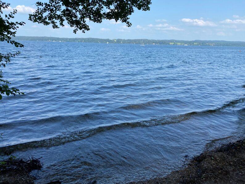 Der Starnberger See bei Bernried