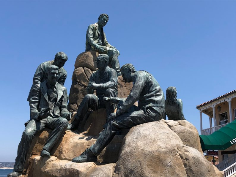 Cannery Row Monument  Monterey