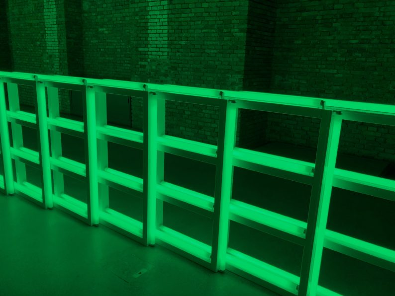 Dan Flavin - 1973 untitled