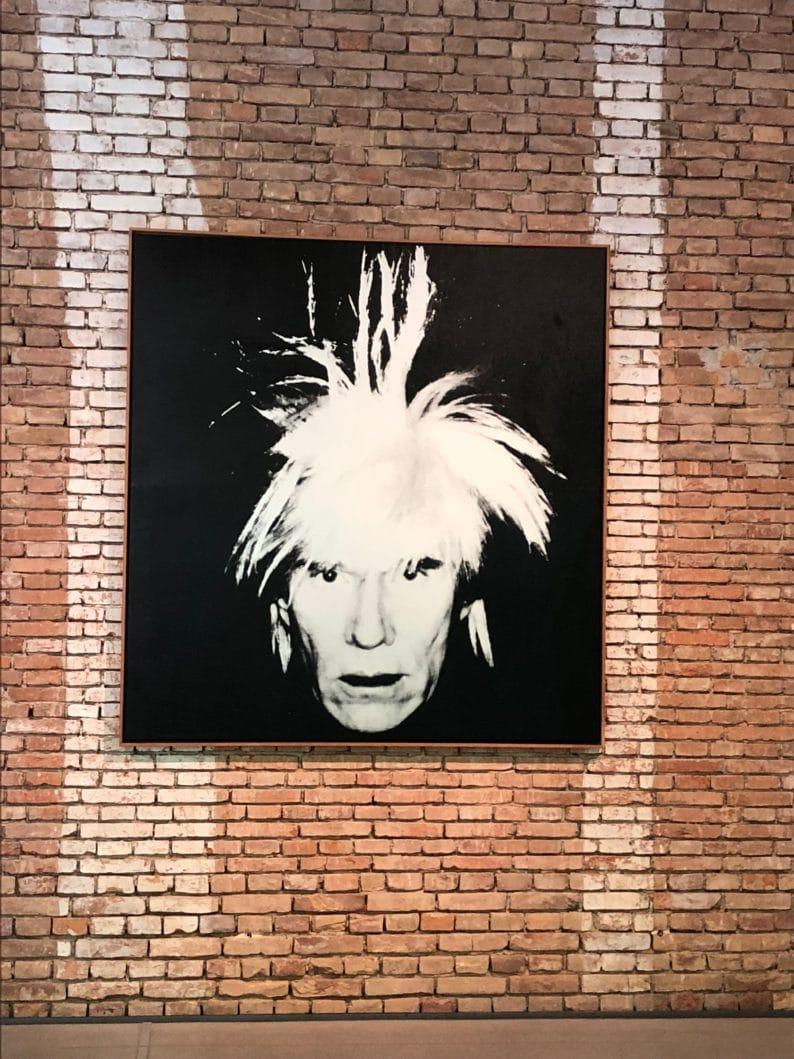 Andy Warhol -Selbstporträt 1986