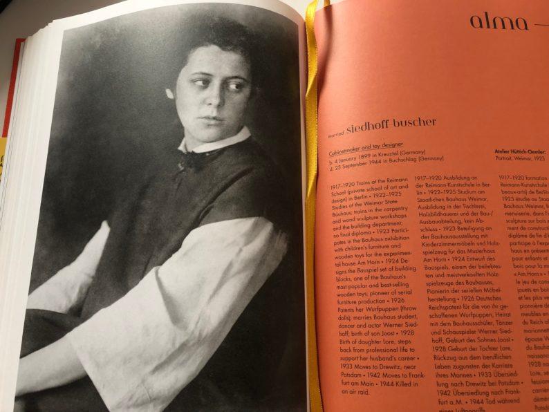 Bauhaus Mädels - Alma Siedhoff -Buscher