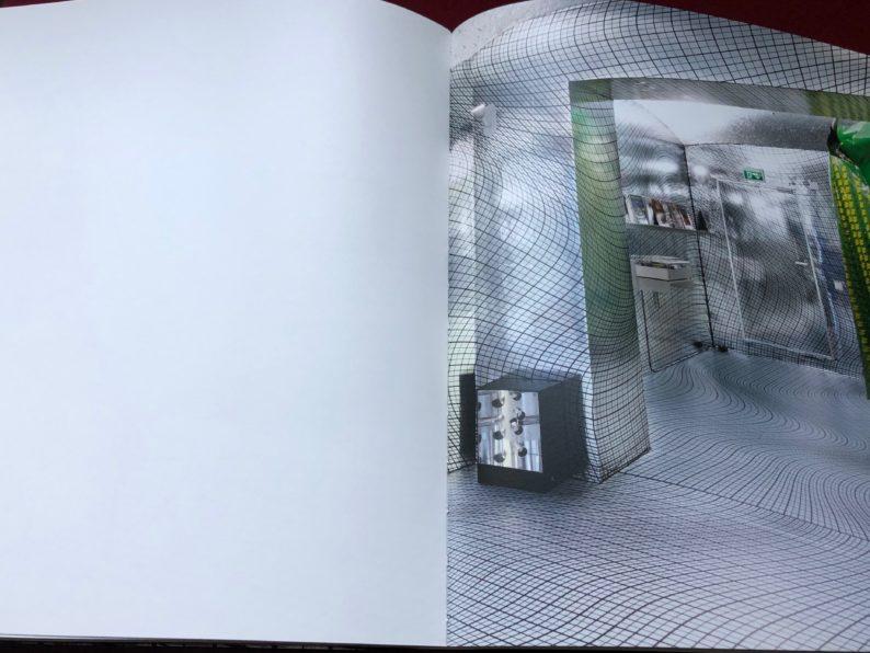 Katalog von Strobo, München, Rauminstallation von Peter Kogler