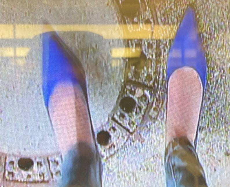 Video im Aufzug