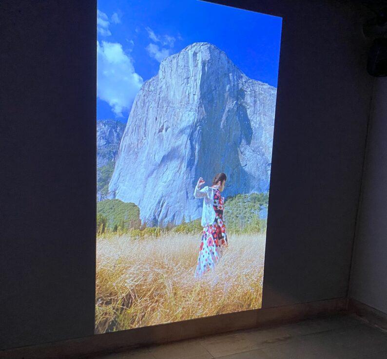Raum 05 - Justin vor El Capitan