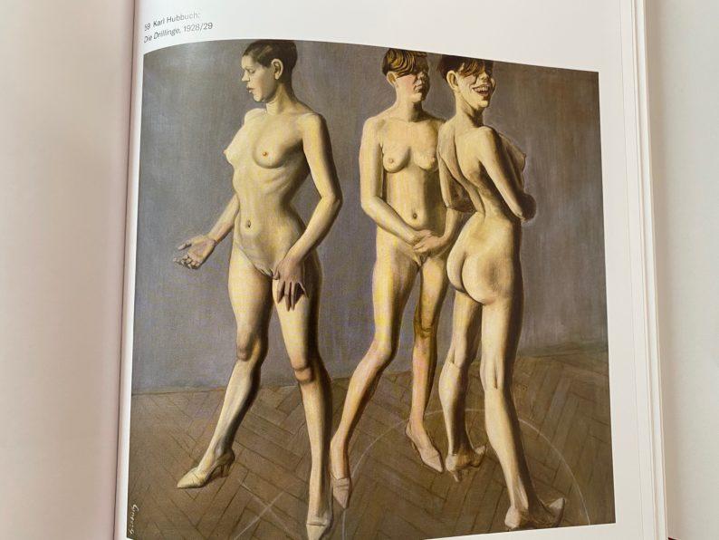 Karl Hubbuch - die Drillinge,1928