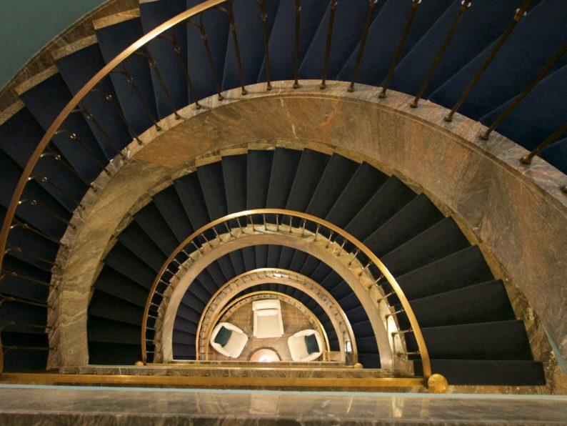 Hotel Elephant - das Treppenhaus