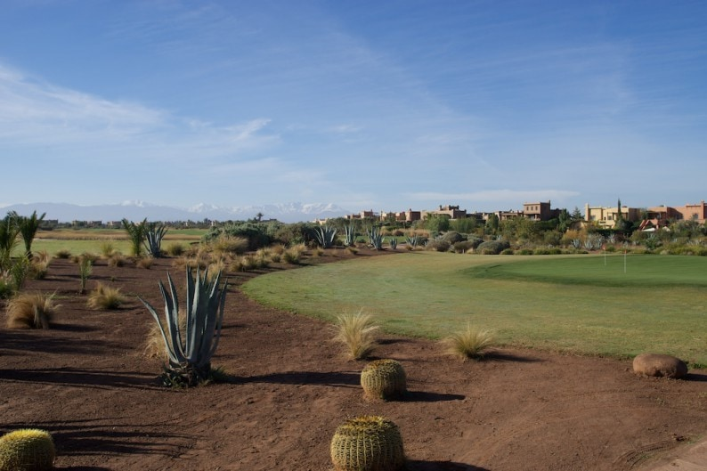 Marrakech - Golfclub Samanah - Putting Green