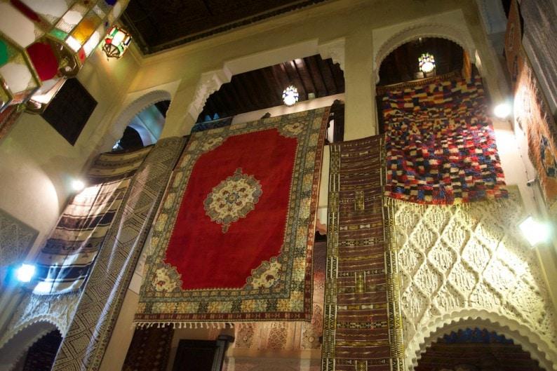 Marrakech - Medina - Antiquitäten Khalid