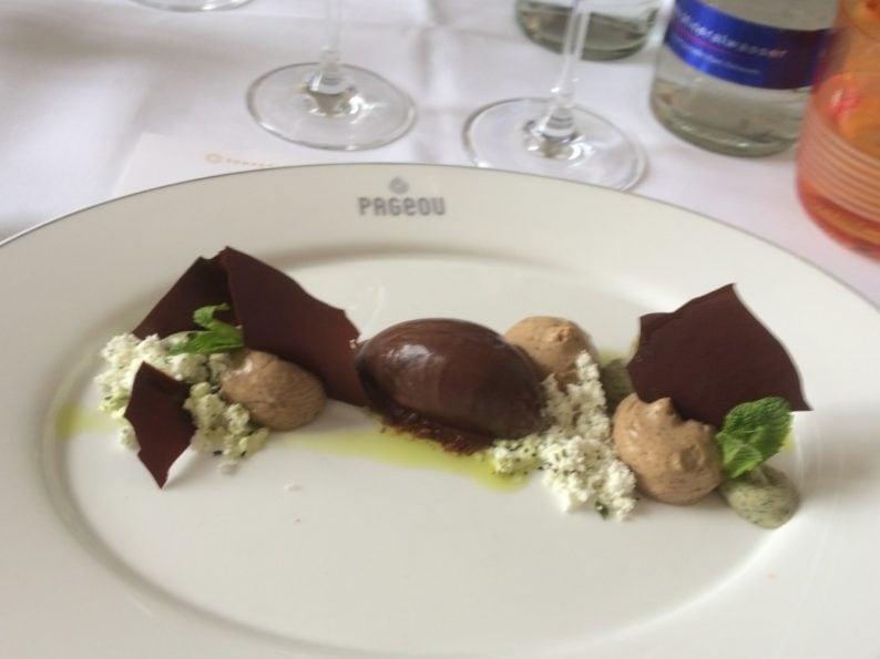 München - Rest. Pageou - Guanaja Schokolade