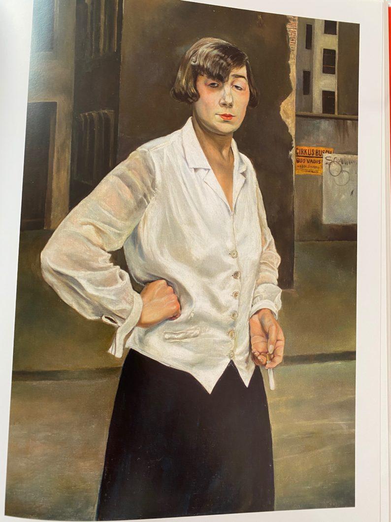 Rudolf Schlichter - Margot,1924