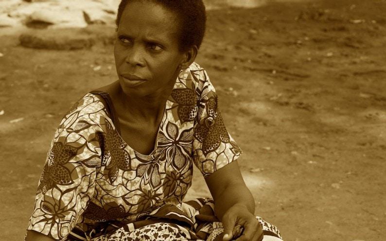 Tanzania - schöne Frau