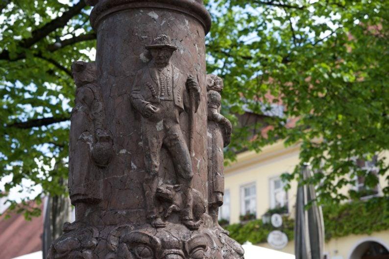 Taschner - Brunnen, 1919
