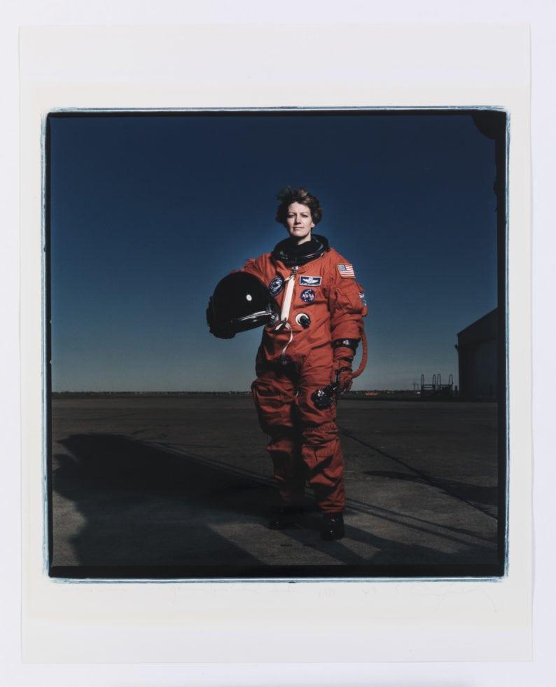 Zero Gravity_Leibovitz_Eileen Collins